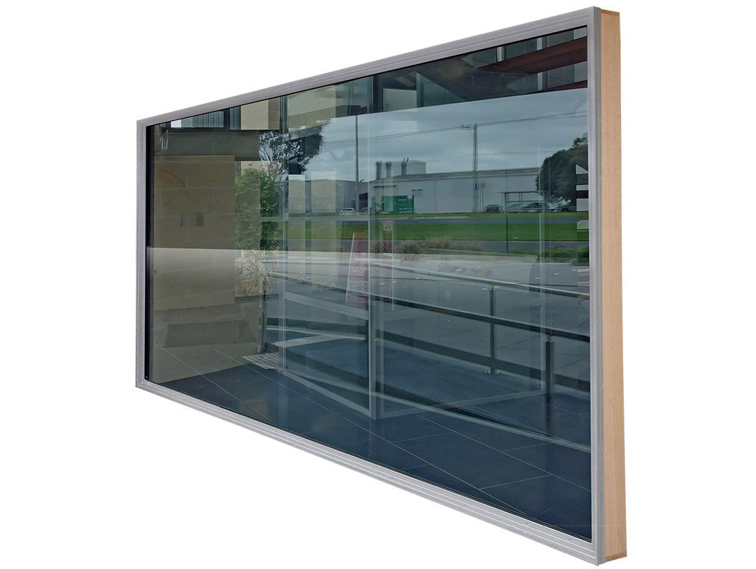 Aluminium Commercial Lite Window, double glazed windows