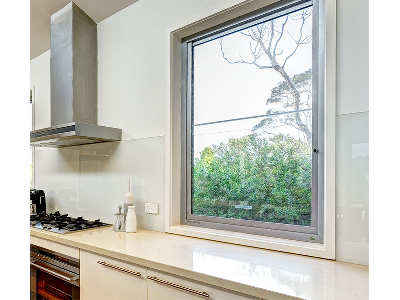 aluminium sashless double hung windows