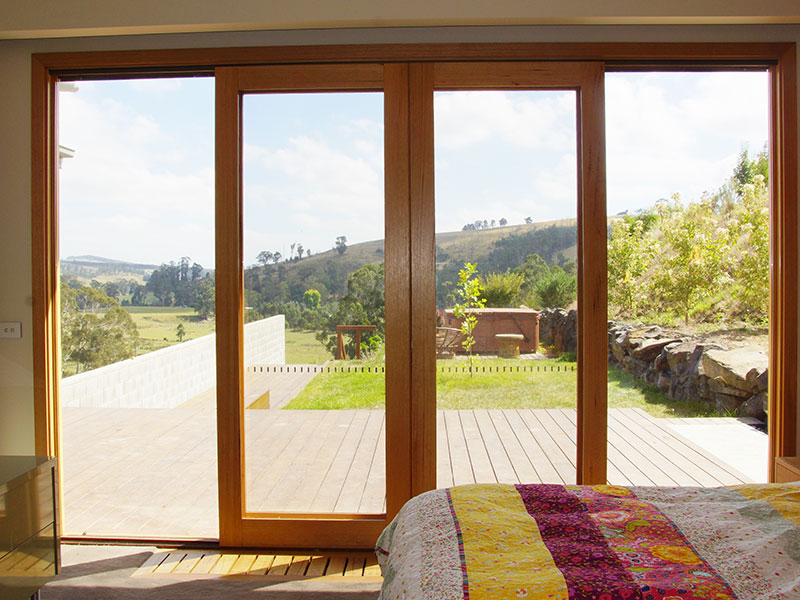 Timber Sliding Door