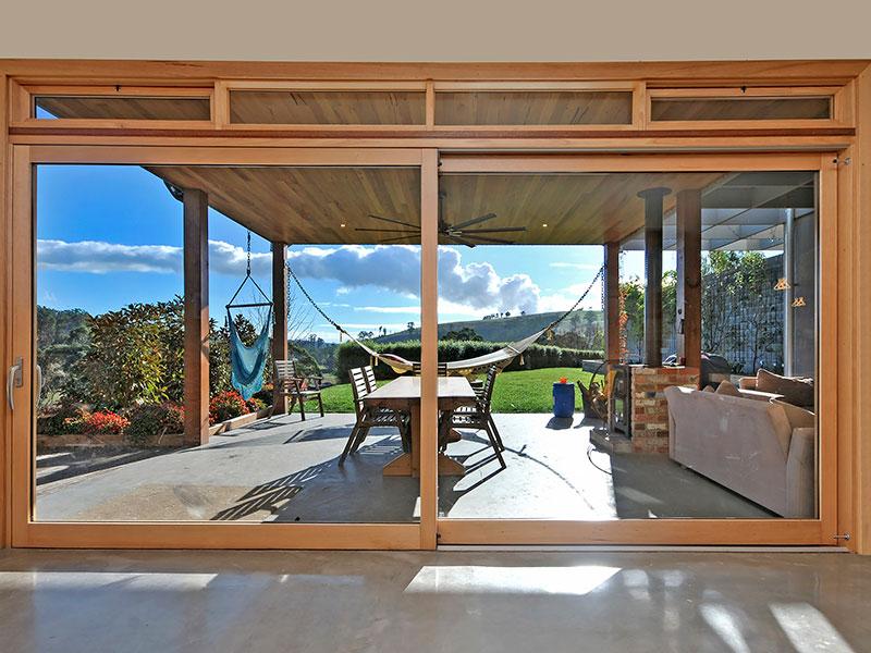 Timber Stellar Lift & Slide Door Energy Efficient Windows