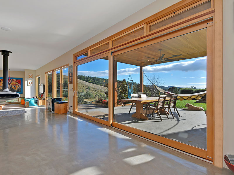 Timber Stellar Lift & Slide Door